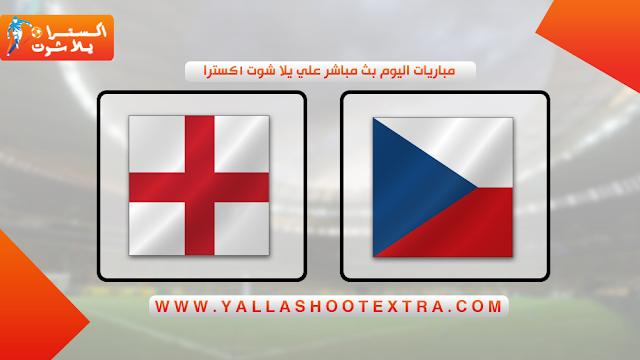 مباراة التشيك و انجلترا 11-10-2019 في تصفيات اليورو