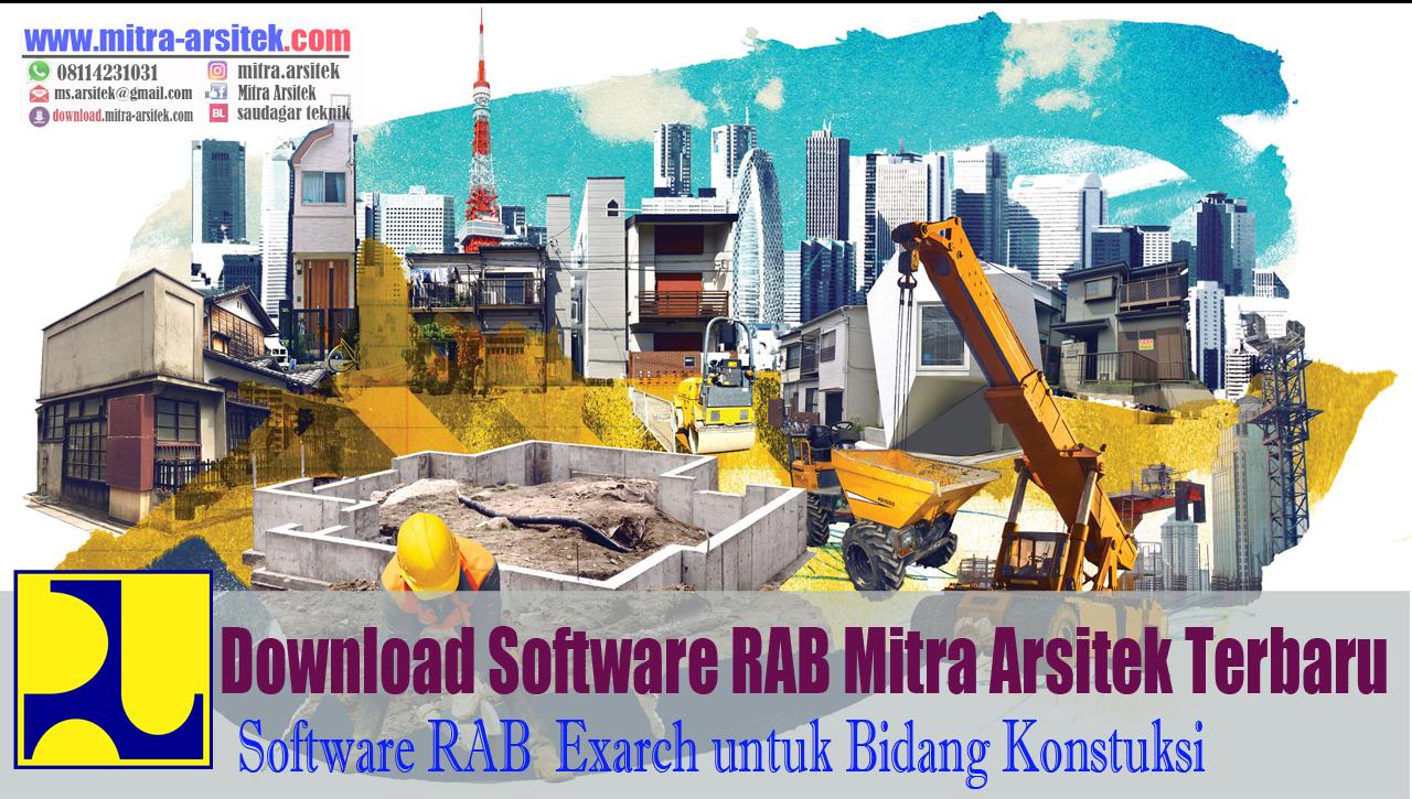 DOWNLOAD SOFTWARE RAB MITRA ARSITEK TERBARU - Mitra Arsitek Official