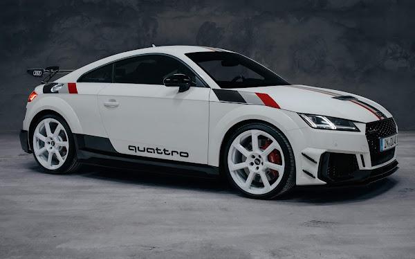 Audi lança edição limitada do TT RS Quattro 40 Anos