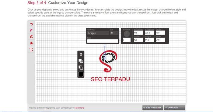 Cara Membuat Logo Online di Situs DesignMantic 3