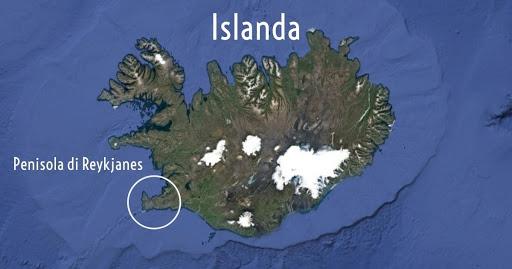 La Penisola di Reykjanes in Islanda