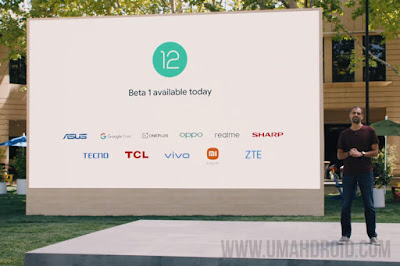 HP Yang Kebagian Android 12 Beta