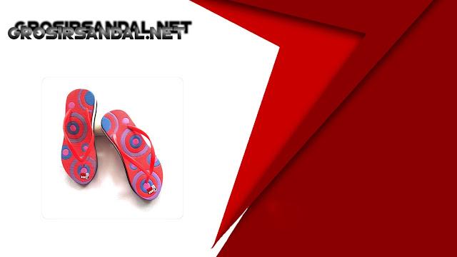 Sandal Rai Cewe Tinggi Motif    Sandal Terlaris Dan Termurah Garut.