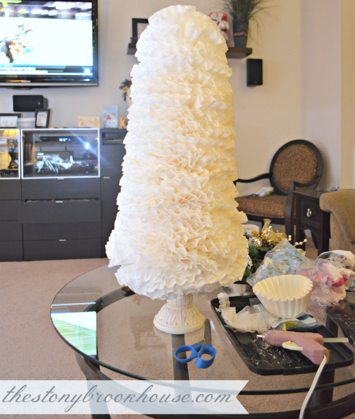 Very big coffee filter tree