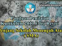 Panduan Penilaian Kurikulum 2013 Jenjang SMA Edisi Revisi