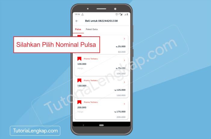 tutorialengkap 3 Cara Beli Pulsa Online dengan Harga Murah Melalui Aplikasi Linkaja di HP Android