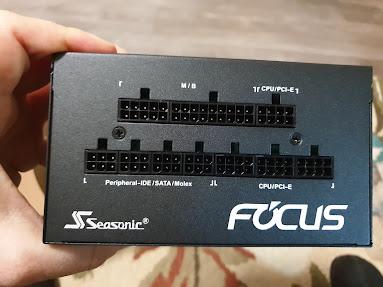 Seasonic Focus GX-550 power supply