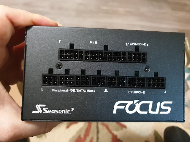 Before we test Seasonic Focus GX-550 power supply