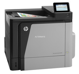 The Hewlett-Packard Color LaserJet Enterprise M651n is ideally suited for high volume printing in professional quality on various sizes