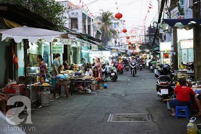 khám phá 4 con phố ẩm thực nổi tiếng sài gòn - Khu Cô Giang