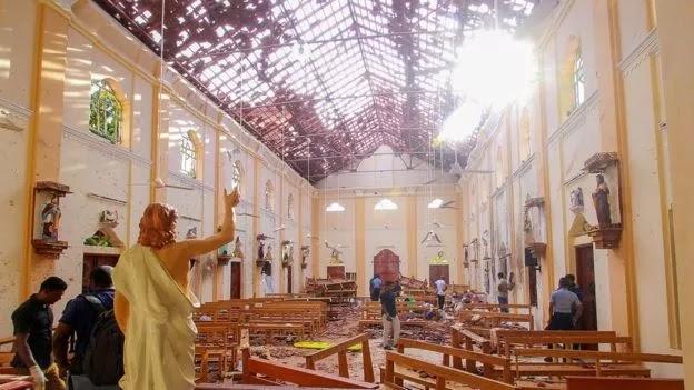 Jumlah Korban Jiwa Bom Di Srilangka Mencapai 290 Orang