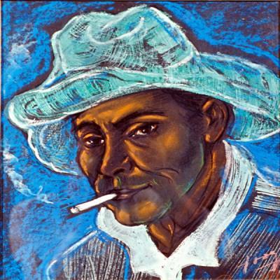 Mulato fumando, 1960