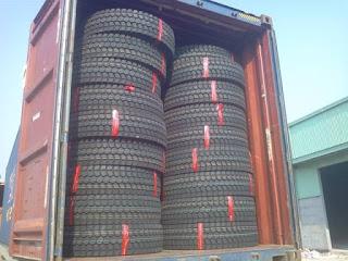 thủ tục hải quan nhập khẩu lốp ô tô