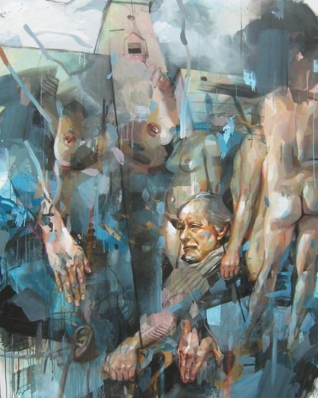 Современное искусство из Франции. Pascal Vilcollet 17