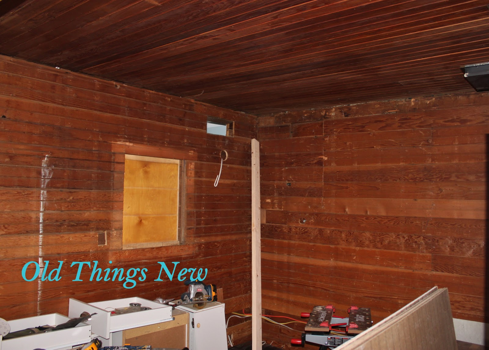 Wood Paneling Filling Gaps In Wood Paneling