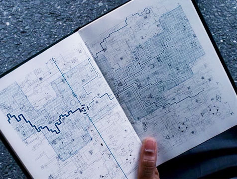 El libro del Agente en Destino oculto - Cine de Escritor