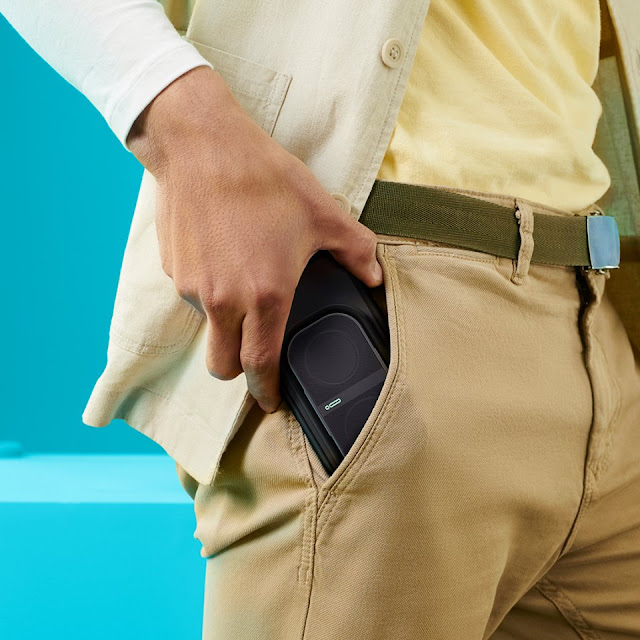 Take Your Music Anywhere With The Incredible, Expandable POW Mo™ Speaker!