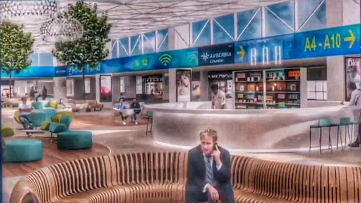 VINCI presents Belgrade Airport plans