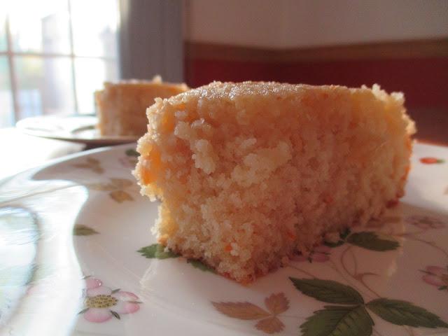 Orange Cake with Rosemary Sugar Slices