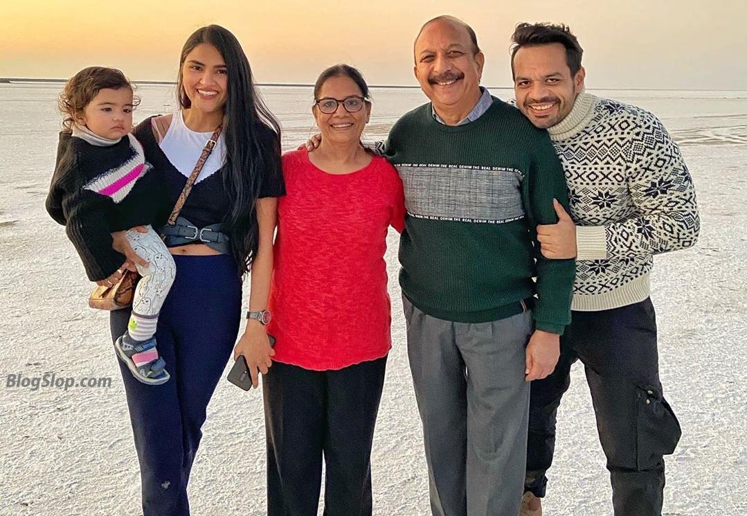 Gaurav Taneja Family