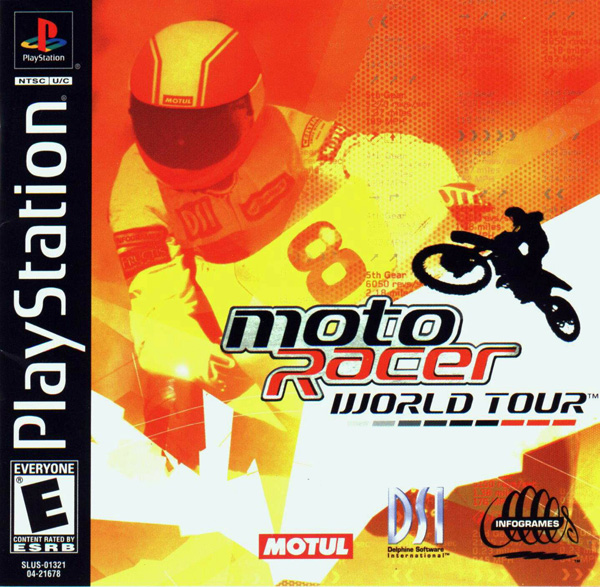 Moto Racer World Tour  - PS1 - ISOs Download