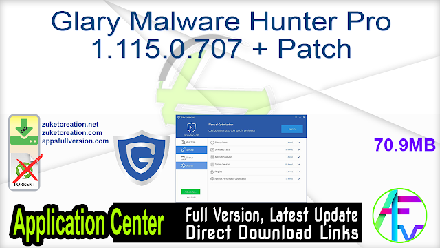 Glary Malware Hunter Pro 1.115.0.707 + Patch