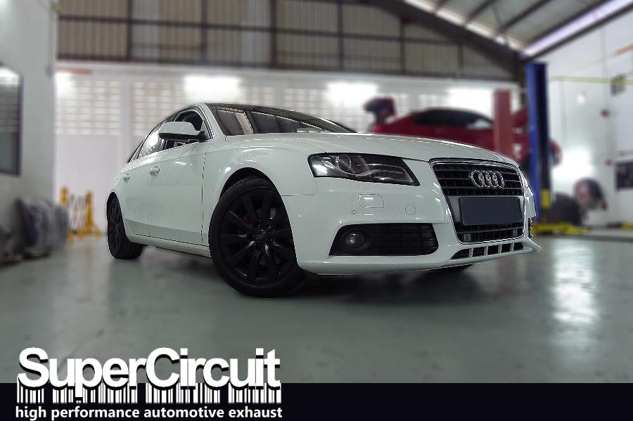 Supercircuit Exhaust Pro Shop Audi A4 B8 18 Tfsi Downpipe