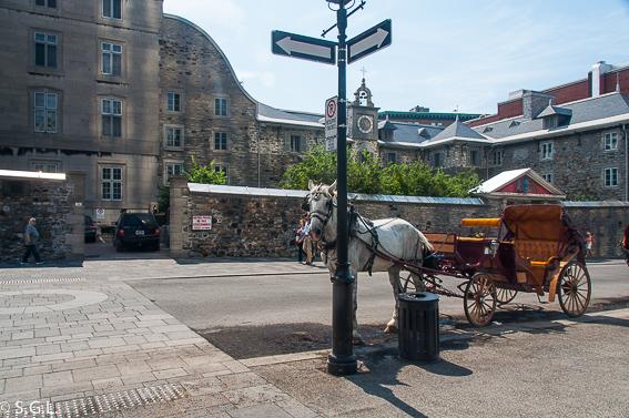 Old Seminary en plaza de armas Montreal