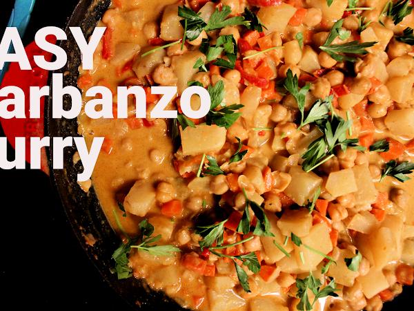 Easy Garbanzo Curry