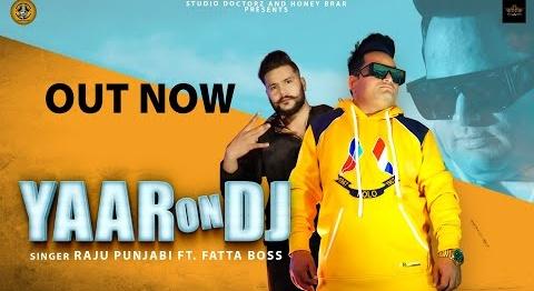 Raju Punjabi New Song Yaar On DJ Lyrics | Raju Punjabi (राजू पंजाबी)Song 2020 | Latest Haryanvi Song 2020
