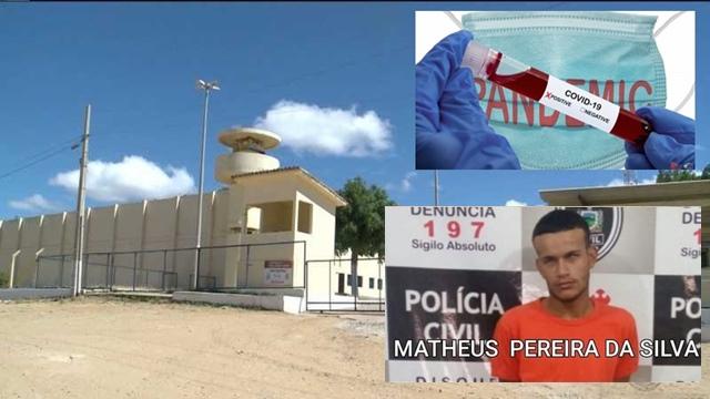 Detento que foi transferido com Covid-19 do Presídio de Patos para João Pessoa morre aos 21 anos