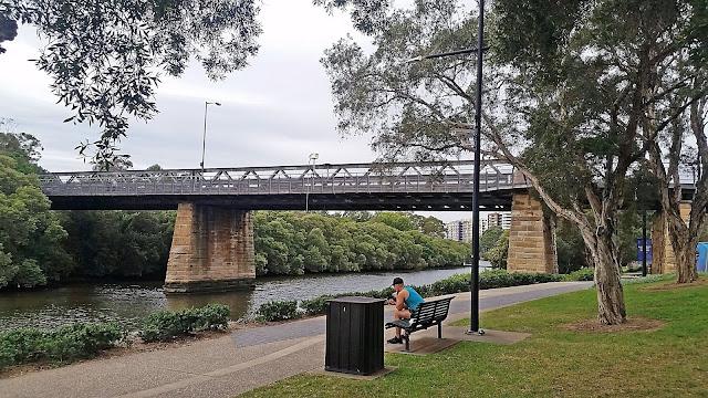 Gasworks Bridge Parramatta (Roderick Eime)