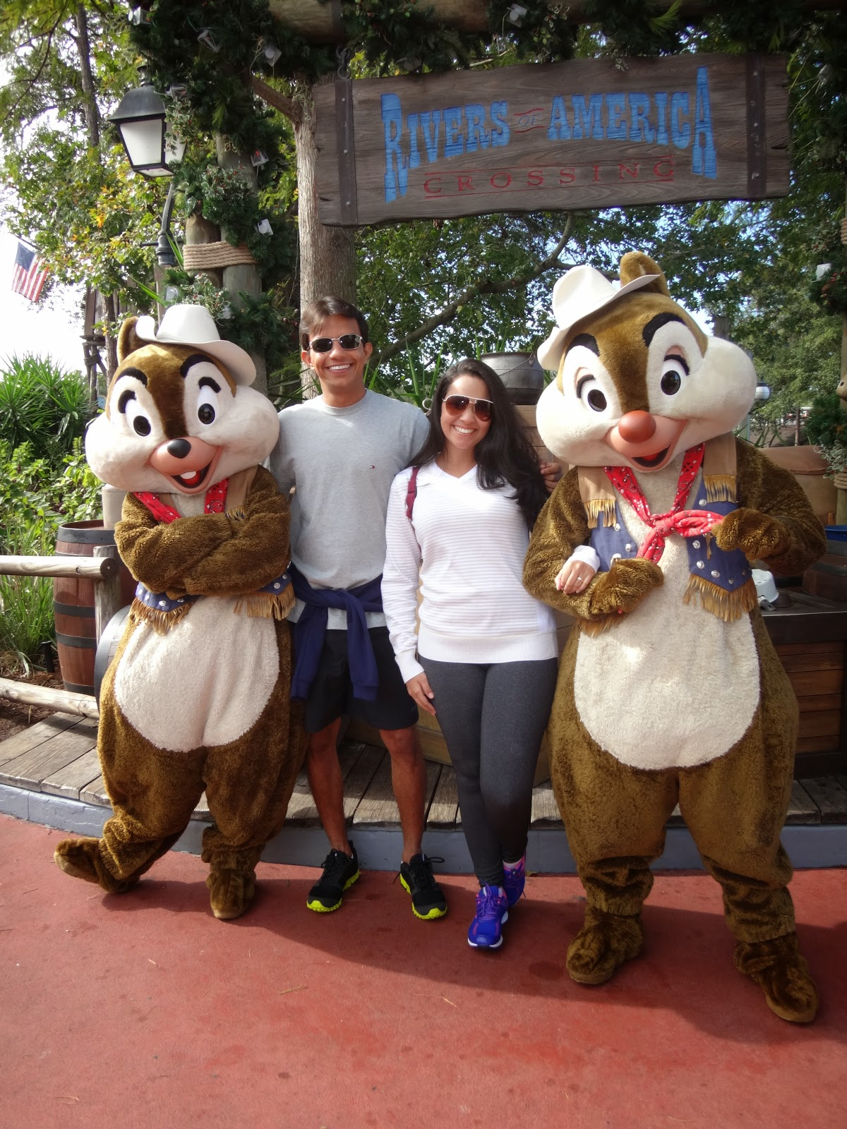 tico e teco - magic kingdom - orlando, eua
