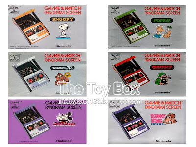 The Toy Box Nintendo Game And Watch Nintendo