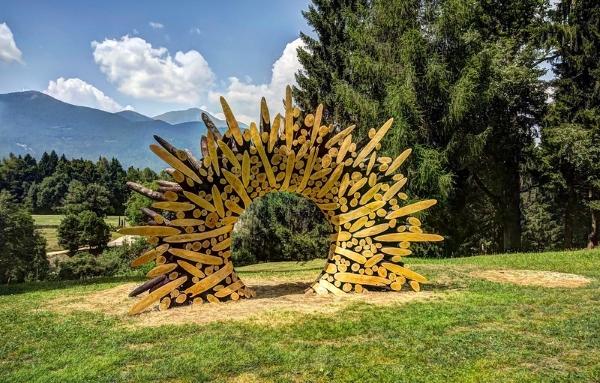 Arte Sella-Valsugana-arte-montagna-legno-scultura