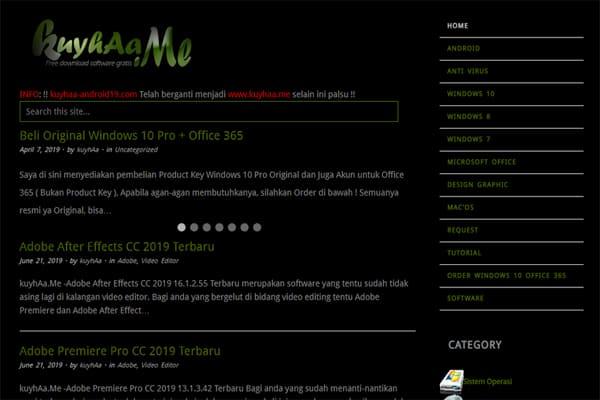 situs download software bajakan