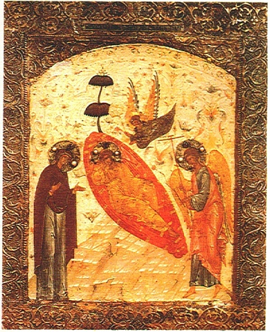 "16th-Century Russian Icon of ""The Unsleeping Eye"""