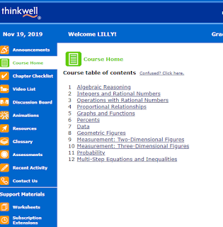 thinkwell student screen