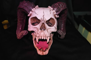 horned skull monster