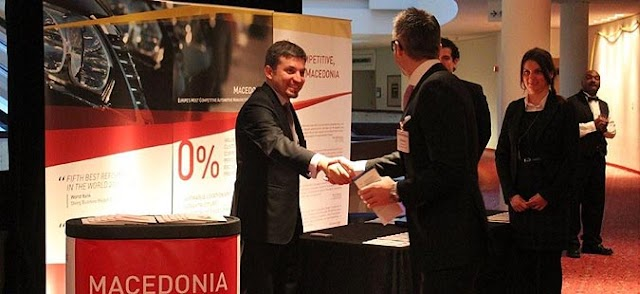 MACEDONIA'S INVESTMENT OPPORTUNITIES PRESENTED AT AUTOMOTIVE NEWS WORLD CONGRESS