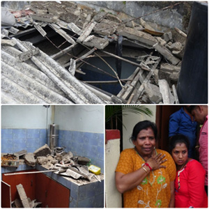 How houses in Hatton were destroyed because of Modi's helicopters