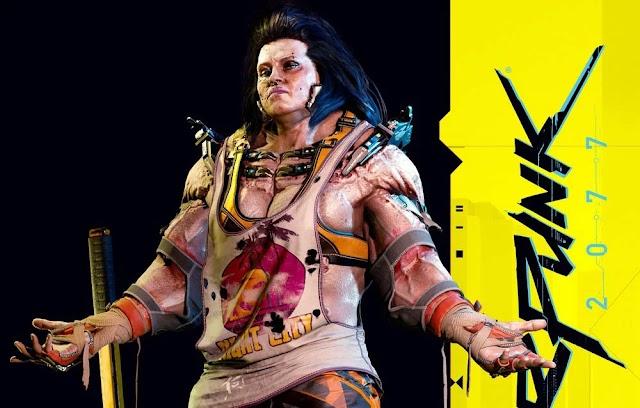 Новые арты Cyberpunk 2077