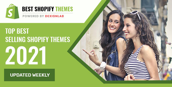 Top Rated Best Selling Shopify Themes