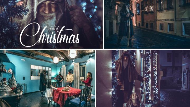 Ξάνθη: Μαγεύει η Χριστουγεννιάτικη ιστορία με φόντο την Παλιά Πόλη