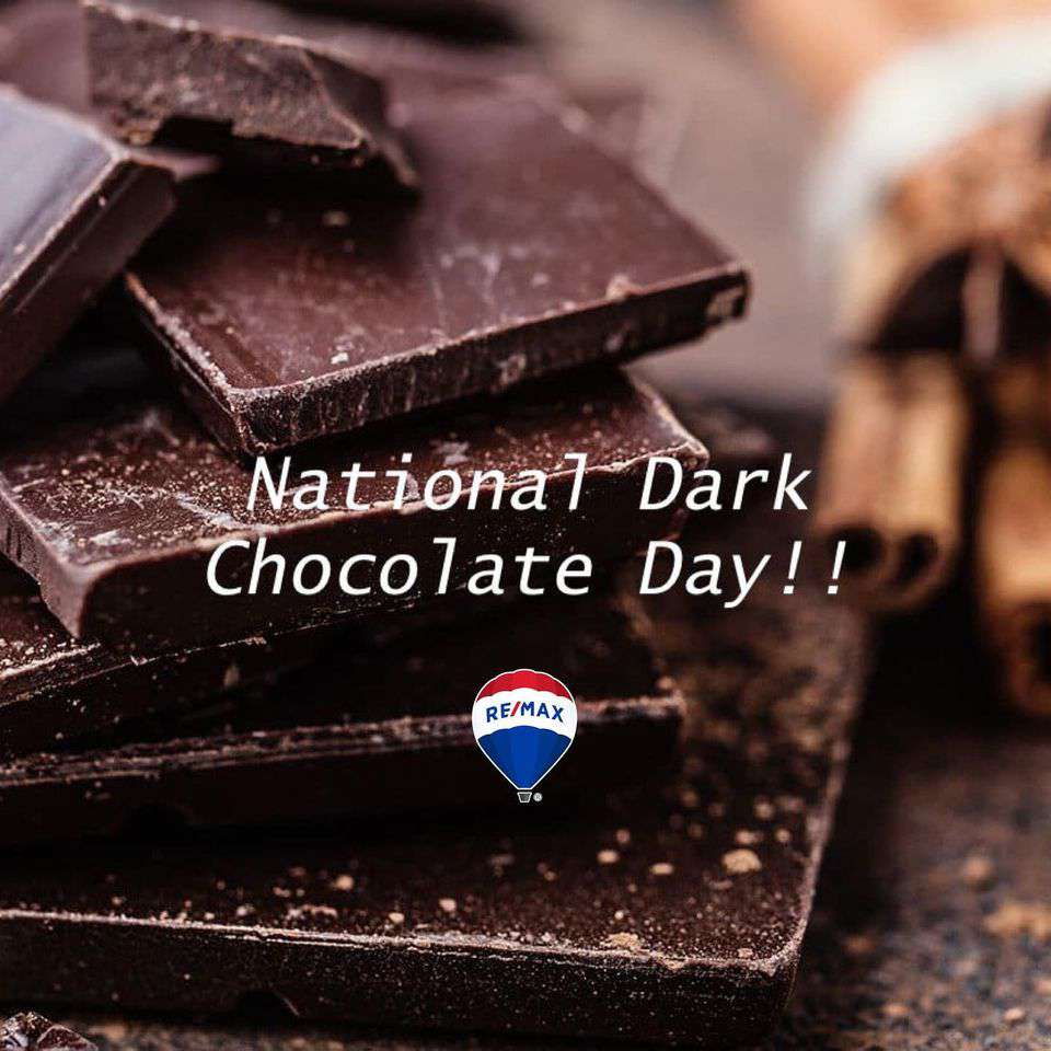 National Dark Chocolate Day Wishes Unique Image