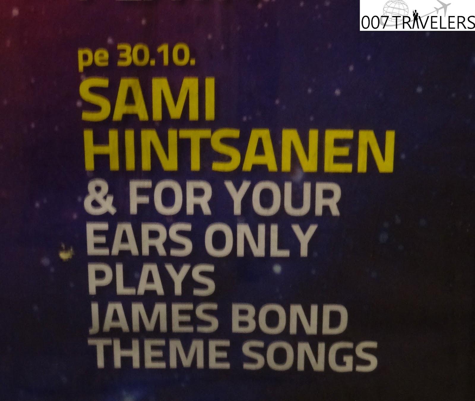 007 TRAVELERS: 007 Travelers report of 007 theme night at