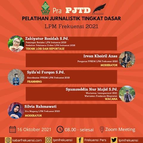 LPM Frekuensi Adakan Pra-PJTD Sebagai Introduksi PJTD 2021