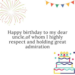 short birthday wishes for uncle