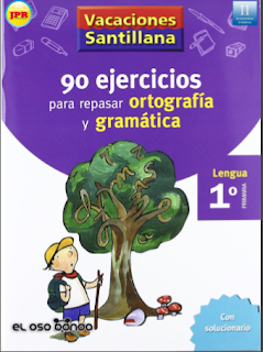 ejercicios para ortografía y gramática (1er grado)
