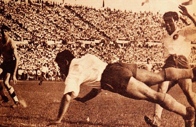 Chile y Uruguay en Campeonato Sudamericano de 1945